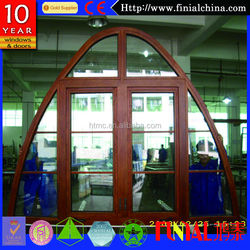 2014 newest aluminum sliding glass door arched top interior doors
