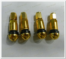Golden supplier Germany Explosion-proof Gas Nozzle Car Rim Aluminum Alloy Valve Tire Pressure,valve caps logo