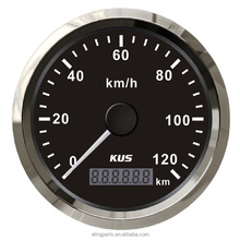 KUS Warranted 85mm GPS Speedometer Odometer 120KM/H For Car Motorcycle Trucks ATV UTV 12V 24V With Backlight