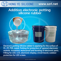 Silicone rubber for Electronic encapsulation LED module
