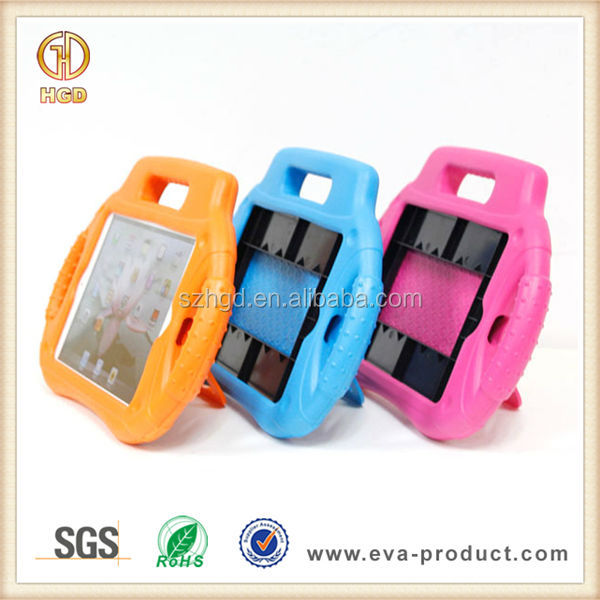 Anti-shock EVA cassette player shape candy color case for ipad mini for kids