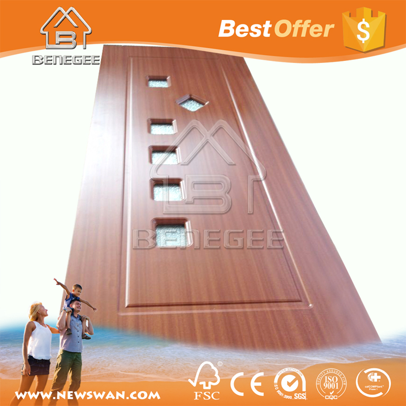 Interior PVC Door / PVC Door Manufacturer / PVC-U Bathroom Door