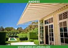 rooftop aluminum canopy retractable carvan awning