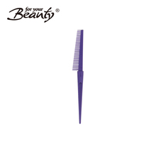 2017 newly stylish antique hairdressers hair combs with different color