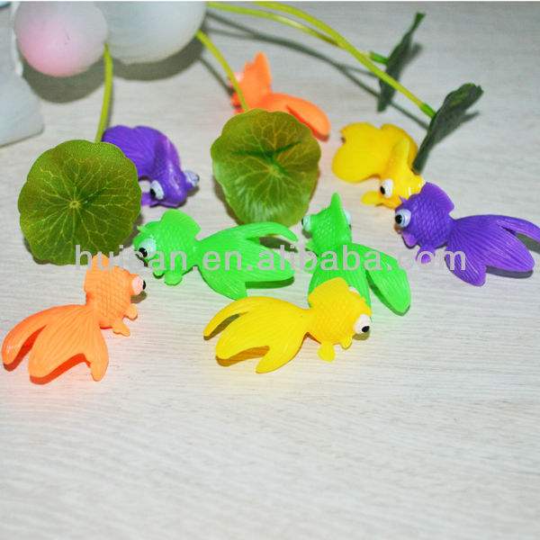 Interesting small plastic toy fish/realistic toy fish/mini toy fish