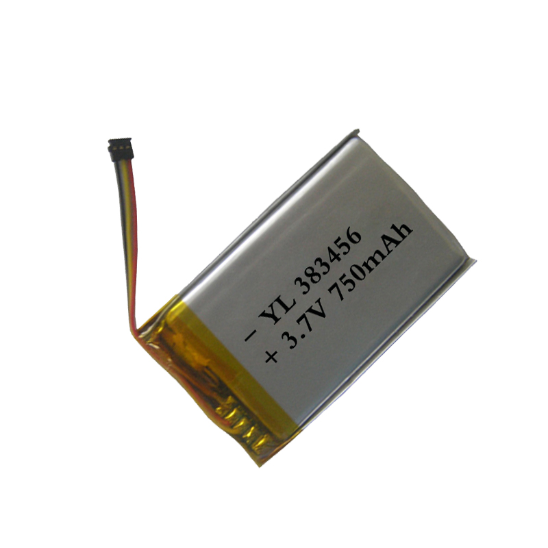 custom li ion rechargeable battery 3.7v 750mah ultra thin lipo battery
