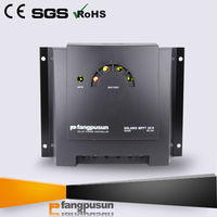 Intelligent monitors LED display 12v rohs mppt solar controller with RoHS CE