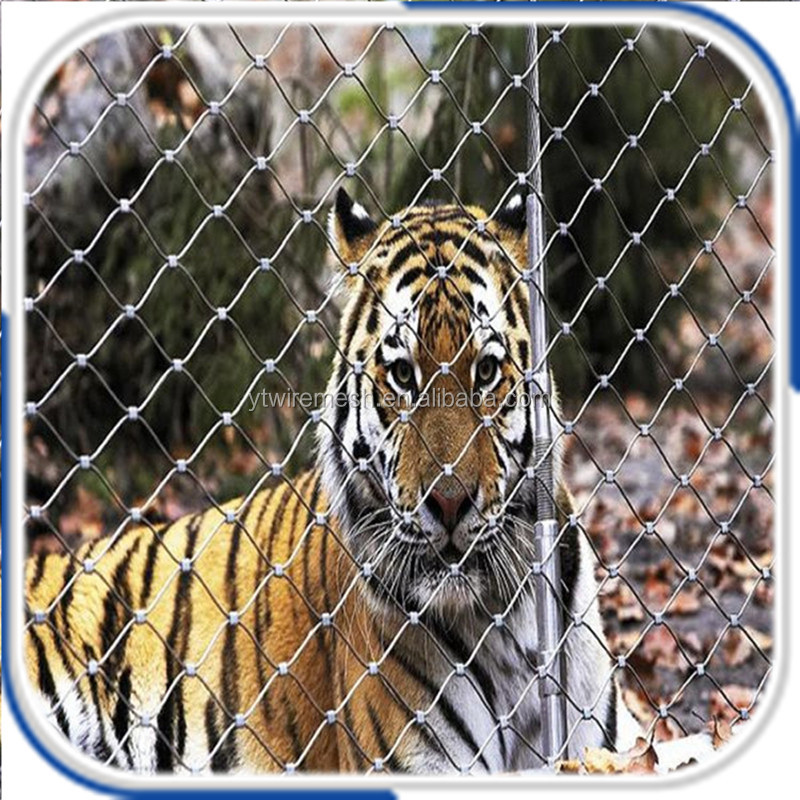 X-tend Brillant Wire Rope Mesh For Zoo Security