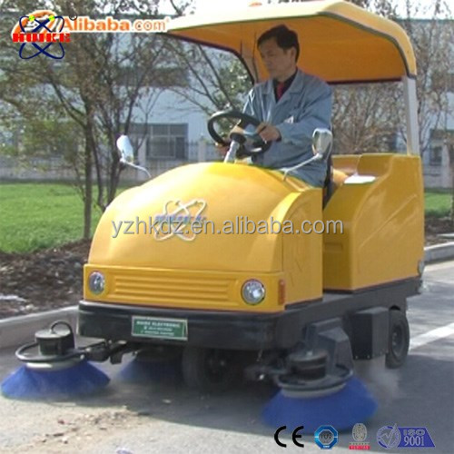 HK-1550B runway vacuum sweeper small street cleaning vehicle