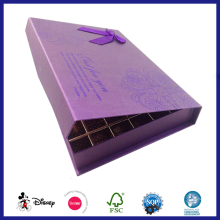 Luxury handmade cardboard paper tray Inside chocolate magnet box