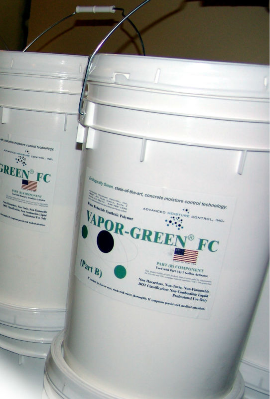 Vapor-Green Epoxy Moisture Mitigation System