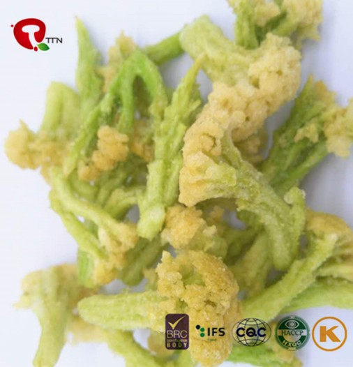 TTN 2017 New Vacuum Fried Broccoli Chips From China Supplier Vegetable