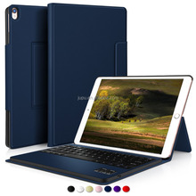 Ultra-Thin Detachable Bluetooth Keyboard Stand Case For Apple iPad Pro 10.5 Inch Tablet (Blue)