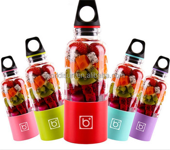 Hot sell Food Grade Juice Extractor blender Rechargeable Portable Fruit Juicer Cup