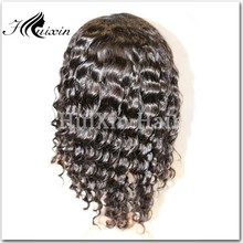 Curly u part human hair wig natural curly lace wig curly wig for black women