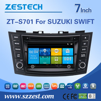 2 din touch screen pioneer car dvd player car dvd vcd cd mp3 mp4 player for Suzuki Swift car dvd player gps with 3G BT