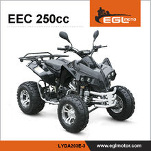 250cc Racing Quadricycle Atv For Sale with EEC