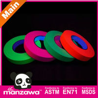 fluorescent yellow green reflective tape