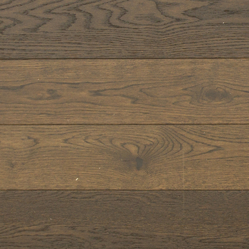 Residential light brown european oak wire brushed wooden flooring