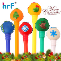 promotional Christmas ball topper pen for gift