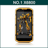 Original NO.1 X6800 Qualcomm Snapdragon 410 MSM8916 Quad Core 5.5 Inch HD Screen 1GB/8GB Android 4.4 4G LTE Mobile Phone