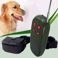 4 in 1 Pet Training Dog Vibrate Electric No Bark Shock Collar Remote Control