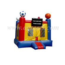 outdoor or indoor play high quality inflatable sport ball bounce house ,funny inflatable bouncers factory G1085
