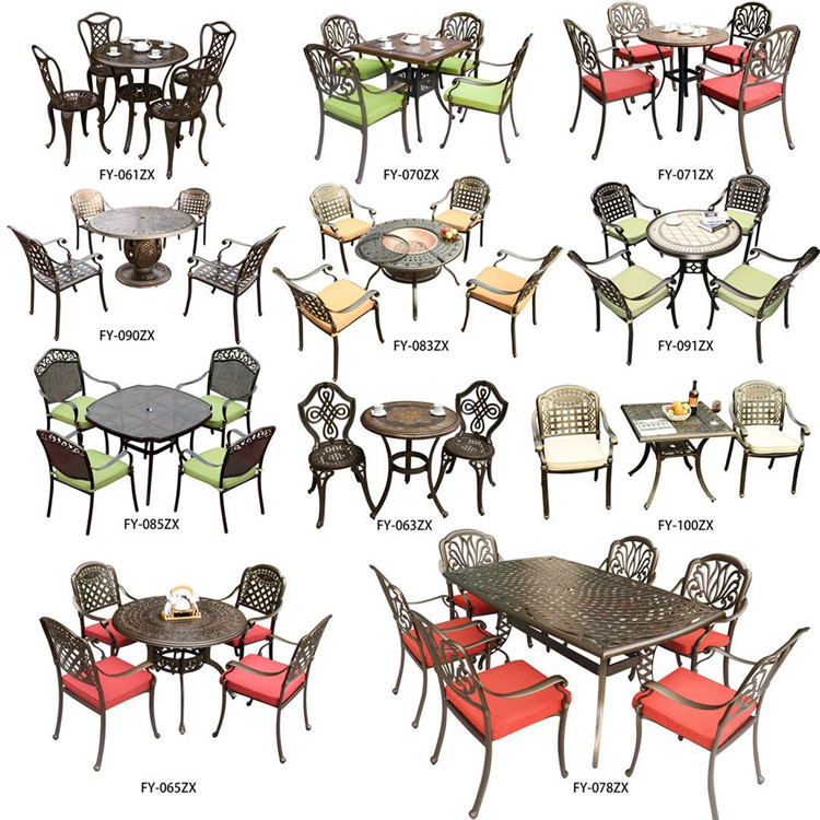 Modern durable hd designs outdoor table and chair set