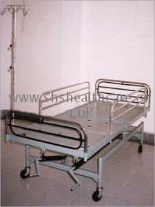 Intensive Care Bed, Fully Fowler, with Collapsable Side Safety Railings
