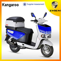 ZNEN MOTOR -- 2015 cheap delivery scooter 50cc 125cc (Patent gas scooter,EEC, EPA, DOT) with big delivery box