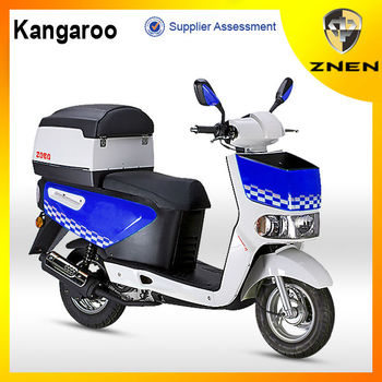 ZNEN MOTOR -- 2016 50cc and 125cc pizza model(Patent gas scooter,EEC, EPA, DOT) with big delivery box