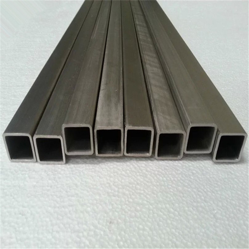 High Purity Titanium Square Tube for Exhaust