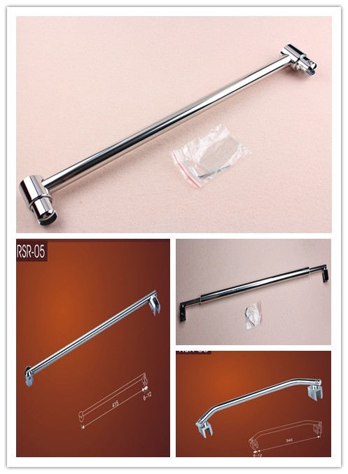 Bathroom Hardware Adjustable Wall To Glass Shower