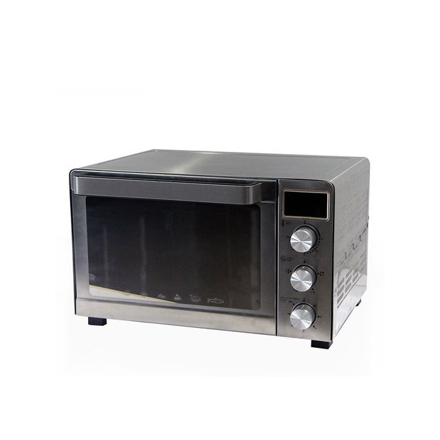 Best quality black silver customizable metal pizza oven for restaurant
