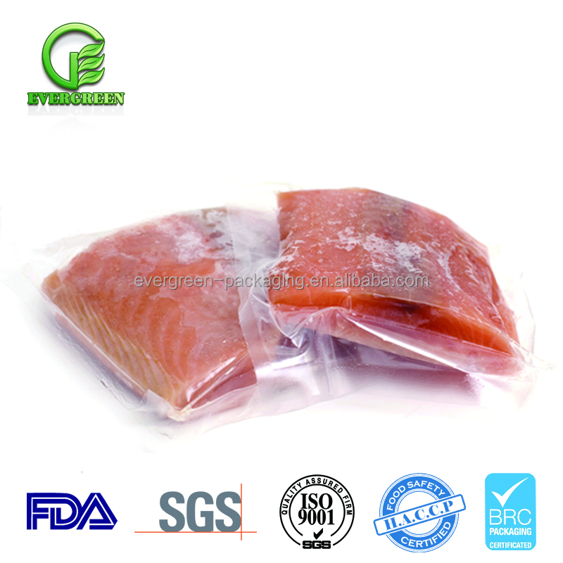 Food Grade Nylon sea food packaging bag/retort bag/bag vacuum