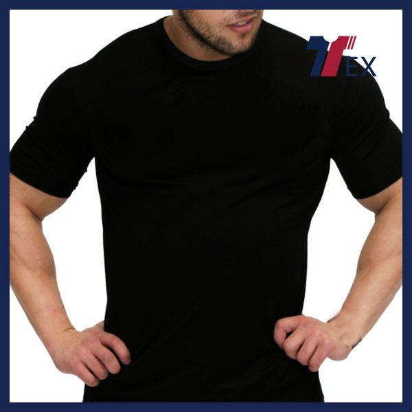 Hot sell activewear high quality body slim wear gym t shirt blank oversized t shirt online shopping