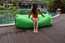2017 Most Popular Products Inflatable Hangout Hammock Air Lounge Sleeping Bags Air Sofa Cheap Bean Bed Lazy Bag