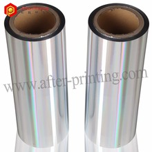 Holographic Thermal Silver Metalized Polyethylene Film for Laminating