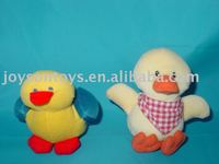 different design of animal duck shaped stuffed plush toy