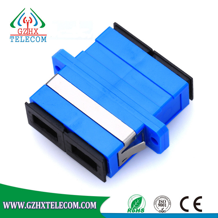 SC singlemode Simplex Fiber Optical Adapter for FTTH network