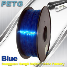 DEJIAN Factory PETG Transparent Blue 3D printer filament 3mm 1.75mm