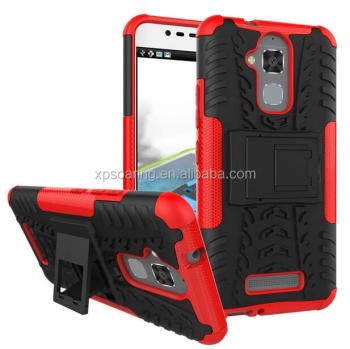 Kickstand shockproof case back cover for Asus Zenfone 3 Max