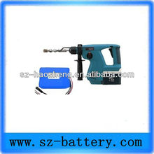 Portable rechargeable li-ion 18v cordless drill battery pack
