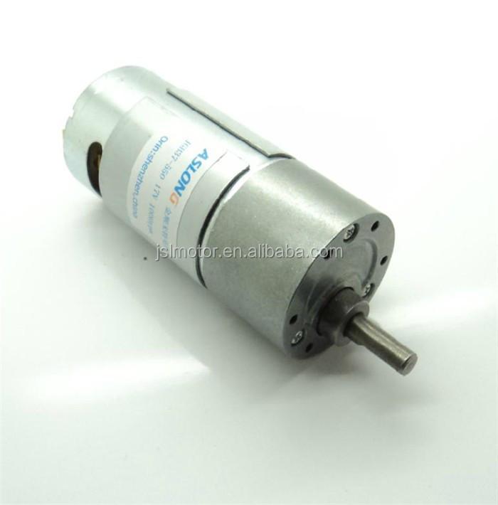 Mini lectrique 12 v dc motor ducteur sp cifications avec for Dc gear motor specifications