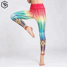 Women Yoga Gym Wear Tight Running Fitness Training Sport Leggings