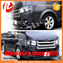 New Toyota hiace van VIP accessories KDH 200 face change body kit auto parts