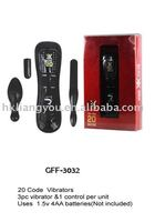 vibrator,Three nice wireless bullets! 10mode vibratin and pulse, GFF-3032,adult novelties,shopsex,vibradores