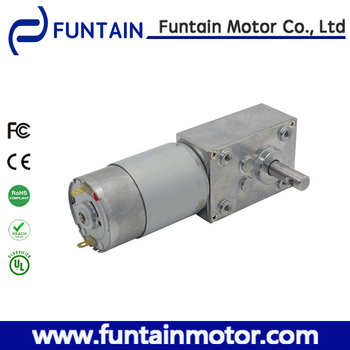 High torque 90 degree 12 volt dc worm geared motor buy for 90 volt dc motor