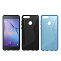 Hot For 2018 Newest Design S Line Soft TPU Back Cover Case For Huawei Honor 7X