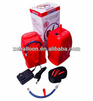 2014 hot selling cheapest portable electric air pump balloon blowing machine
